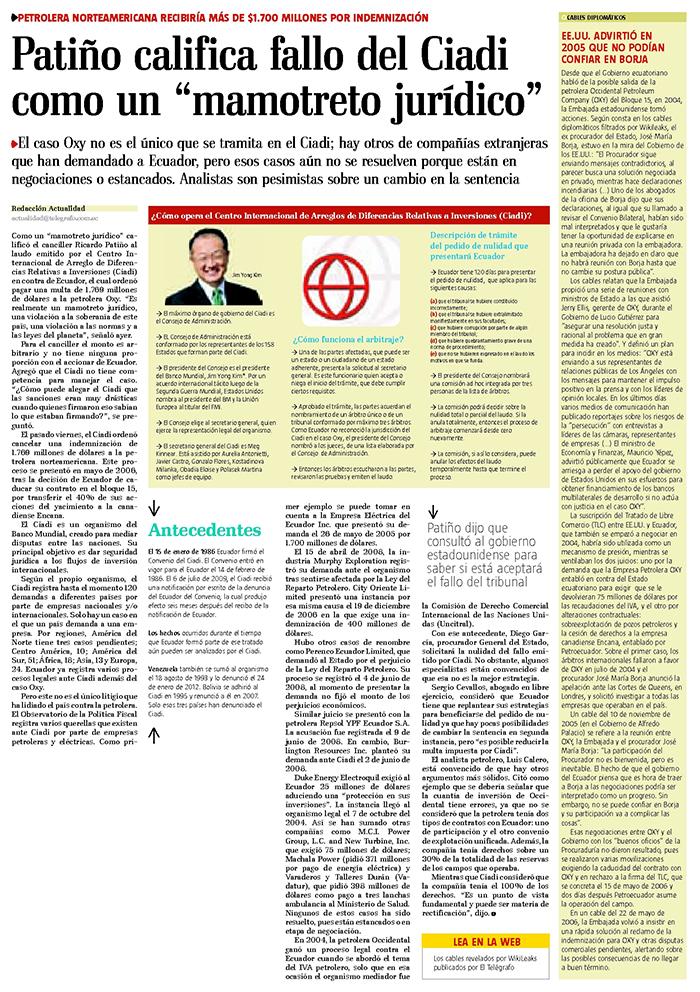 23-2012-10-10El_Telegrafo_Patino_califica_al_fallo_del_Ciadi