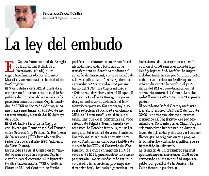 38-2012-10-19_El_Telegrafo_Oxy_La_Ley_del_embudo_opinion