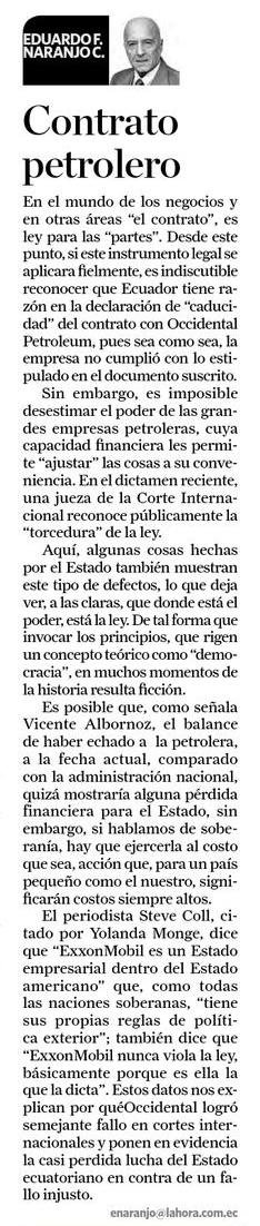 42-2012-10-26_La_Hora_Oxy_Contrato_petrolero_opinion