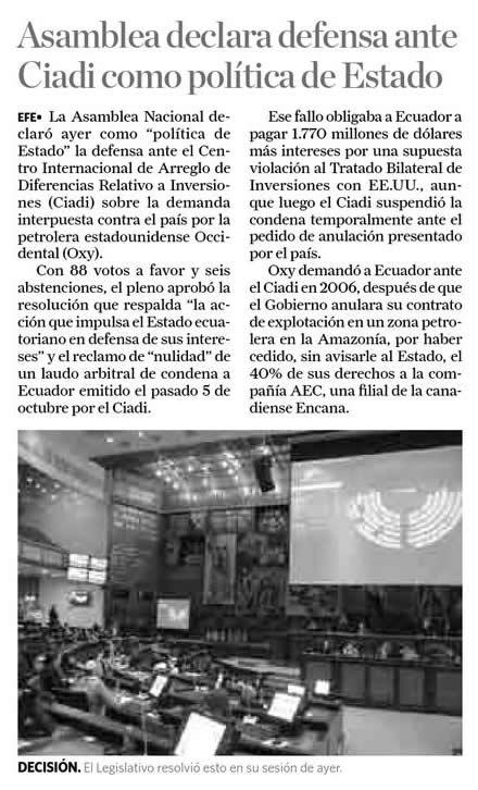 53-2012-10-31_La_Hora_Oxy_Asamblea_declara_defensa_ante_CIADI
