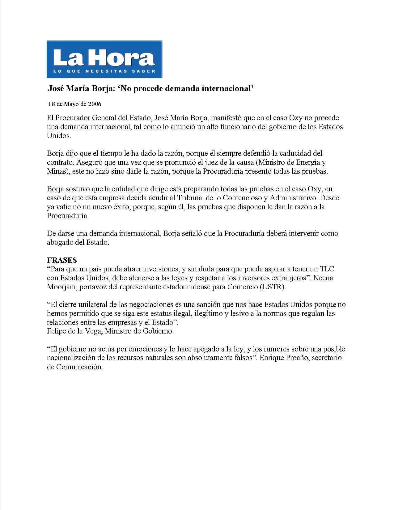 6-2006-05-18-La Hora