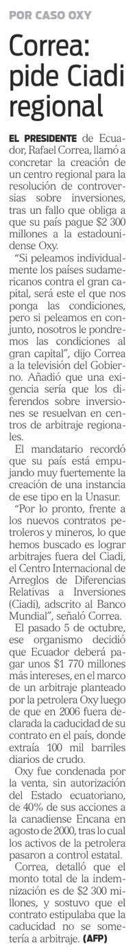 17-2012-10-17_Hoy_Oxy_Correa_pide_CIADI_regional
