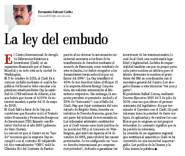18-2012-10-19_El_Telegrafo_Oxy_La_Ley_del_embudo_opinion