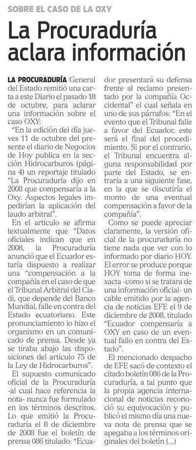 21-2012-10-25_Hoy_Oxy_La_Procuraduria_aclara_informacion