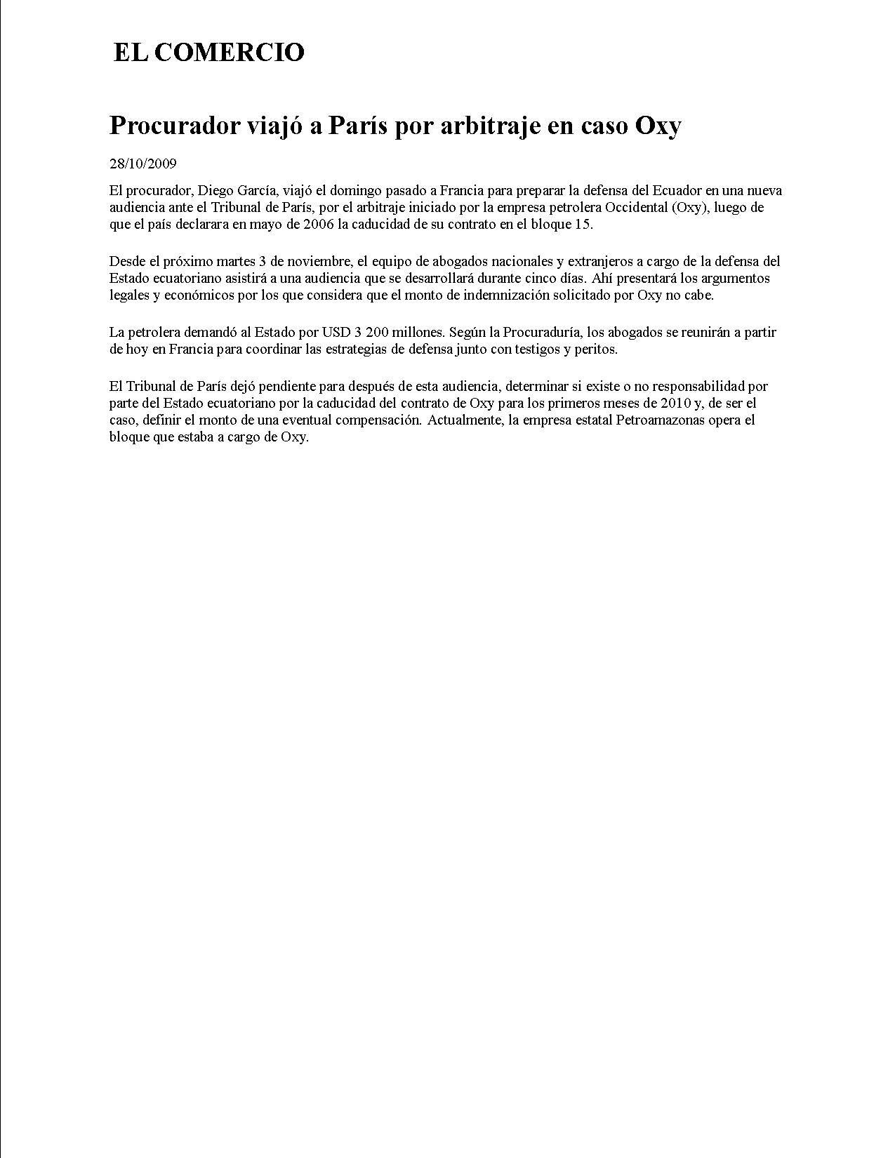 3-EL COMERCIO 28-10-2009