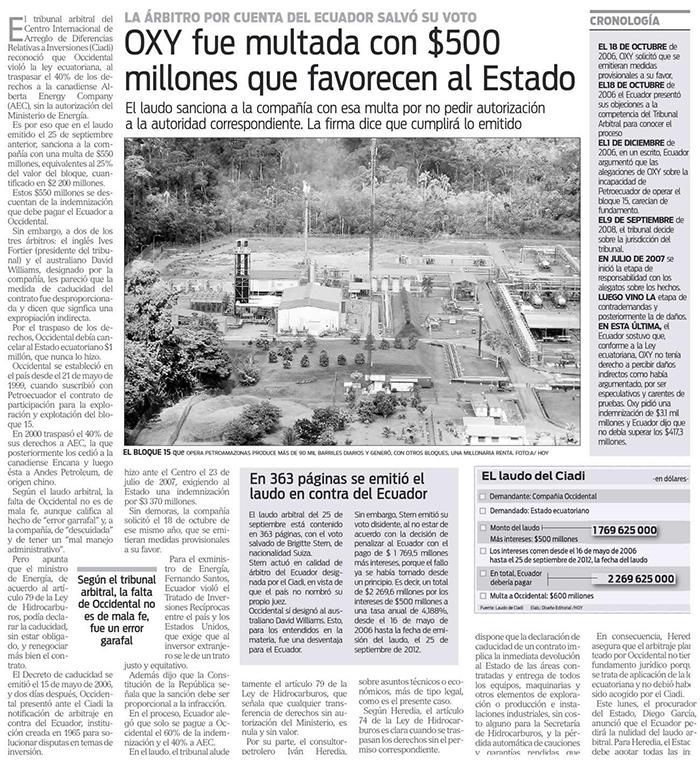 5-2012-10-10Hoy_Oxy_fue_multada_con_500_millones_que_favorecen_al_Estado