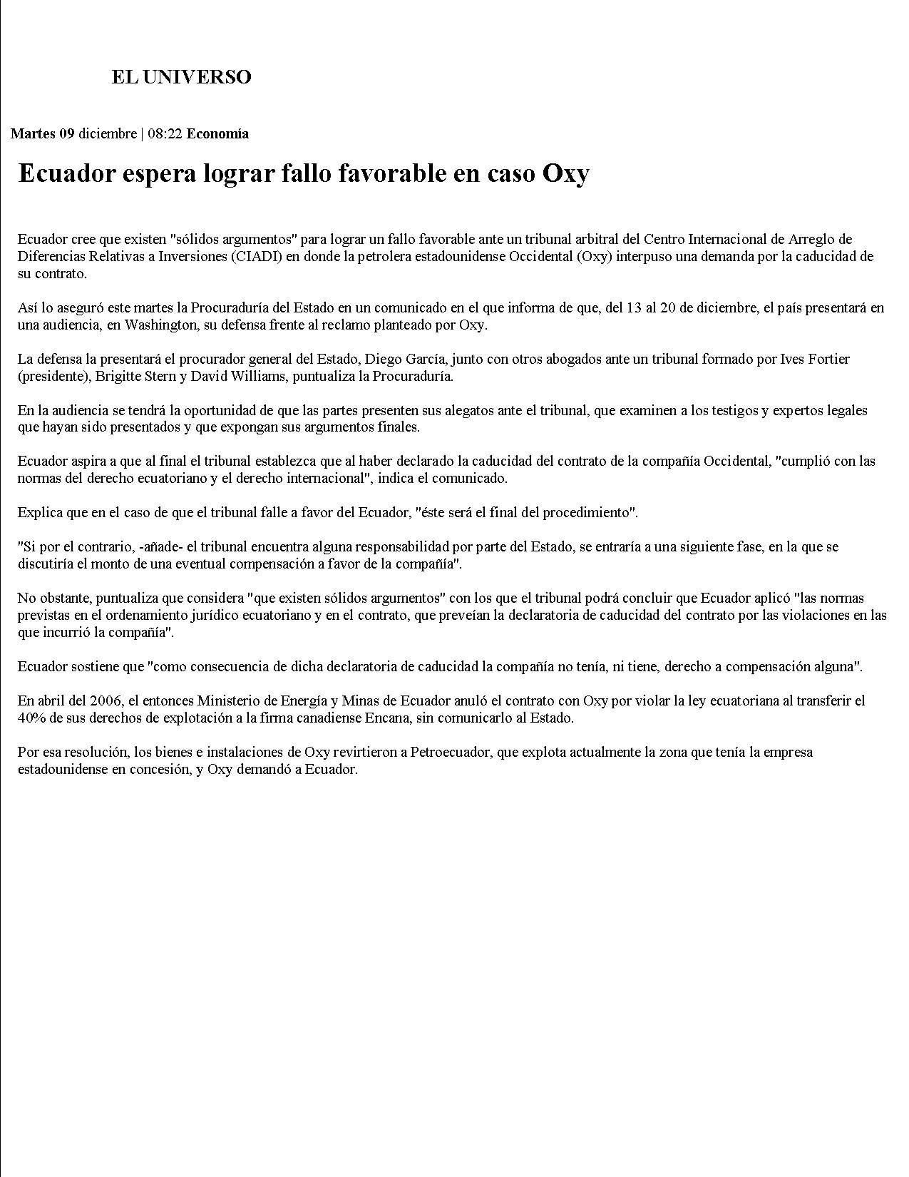 5-EL UNIVERSO 09-12-2008