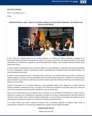 2014-10-17, Boletin, Presentación Libro OXY
