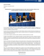 2014-11-06, Boletín Presentación Libro Oxy Washington
