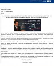 2014-12-09, Boletin, Presentacion libro Oxy Paris